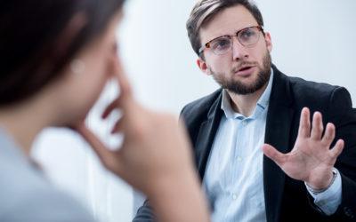 Are you really having a dialogue or giving a monologue?
