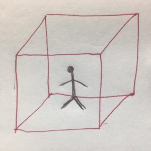 put in a box