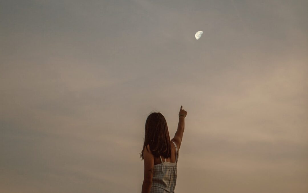 finger is not the moon